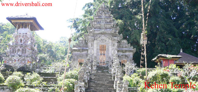kehen temple at bangli regency bali