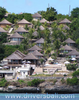 coconut beach resort at nusa lembongan