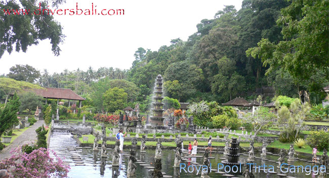 Tirta Gangga Royal Water Garden: Tirta Gangga Royal Pool